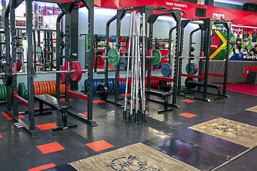 hpc gym squat racks